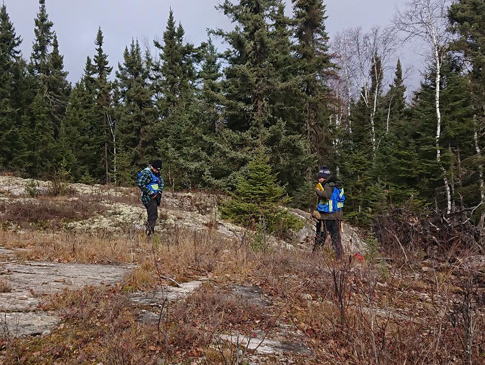 Photo courtesy of Confederation Minerals
