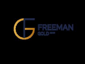 DigiGeoData - Freeman Gold Logo Gold and Navy RGB